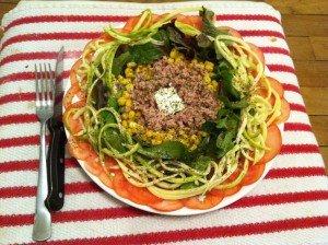 Salade Fraîcheur dans recette légères photo-11-300x224