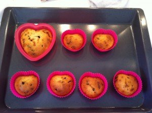 Muffins au pépites de chocolat dans recettes sucrées muffins-300x224