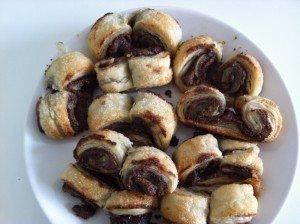 Palmiers au nutella dans recettes sucrées palmiers-300x224